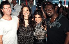 Simon Cowell, left, Kara DioGuardi, Paula Abdul and Randy Jackson are the judges on American Idol, which will see several tweaks for Season 8.