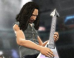 "(Guitar) Hero of the Day: Metallica's Kirk Hammett goes 3-D in the band's new game. ""Younger kids are exposed to all this great rock and heavy metal they'd never be exposed to otherwise,"" he says."