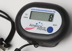 Take steps to help someone: The non-profit America On the Move is offering USA TODAY readers two pedometers for $14.95 at          dietchallenge.usatoday.com and          americaonthemove.org, or call 877-866-8663.