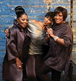 Sarah Dash, left, Nona Hendryx and Patti LaBelle are reuniting as the group Labelle. This fall, they released their first studio album as a group in 32 years, and they're planning a tour in 2009.