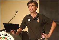 Randy Pausch succumbed to pancreatic cancer earlier this year.