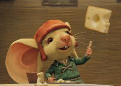 Despereaux (voiced by Matthew Broderick) is charming, friendly and brave. He also is all ears.