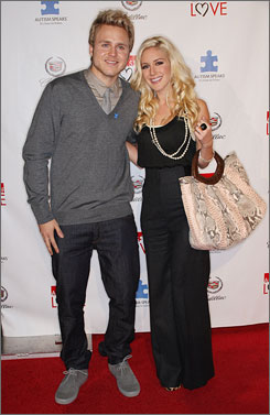 Spencer Pratt and Heidi Montag exchanged vows in November in a symbolic ceremony.