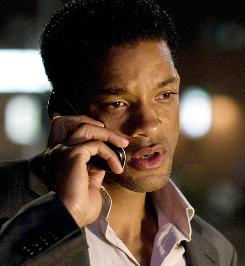 In Seven Pounds, Ben (Will Smith) compiles a list of seven names of people who need help. Along the way, he falls in love with one of them.