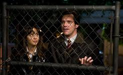 Free spirit (Zooey Deschanel) meets elastic-faced guy (Jim Carrey) who just can't say no in Yes Man.