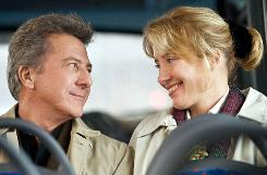 He's Harvey: Dustin Hoffman and Emma Thompson meet and fall in love in London.
