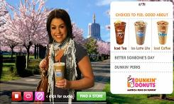 Does this scarf support terrorism? This Dunkin' Donuts ad featuring Rachael Ray was yanked off the air in May. Complaints centered around Ray's scarf, which resembles a keffiyeh, a traditional Arab headdress that some observers say is a symbol of Palestinian militancy.