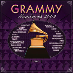 The compilation CD includes songs by Coldplay, M.I.A. and Jazmine Sullivan.