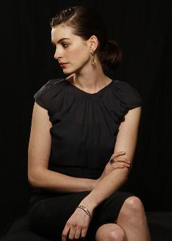 Present profile: Anne Hathaway stars in Bride Wars, opening Friday, and she's a favorite to get a best-actress Oscar nomination for Rachel Getting Married.