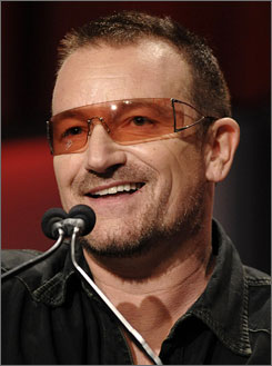 Bono, Bruce Springsteen and John Mellencamp are among the performers at Sunday's inaugural event.
