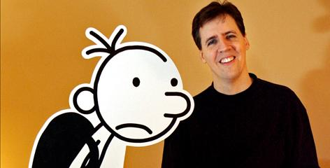 Jeff Kinney's cartoon kid, Greg Heffley, is back today in Diary of a Wimpy Kid: The Last Straw.