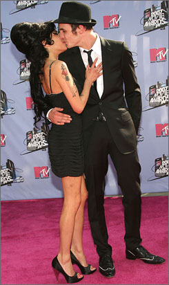 Amy Winehouse and Blake Fielder-Civil wed in May 2007. He was in jail for part of their marriage.