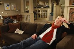 Comedian Jay Mohr stars as a recently divorced painting contractor in CBS' new Wednesday night comedy Gary Unmarried.