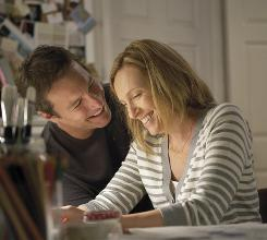 United front: John Corbett plays Toni Collette's loving husband.