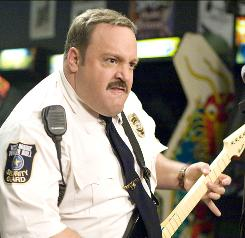 Paul Blart: Mall Cop, starring Kevin James, did a surprisingly strong $33.8 million at the box office this weekend.