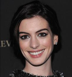 "Anne Hathaway: ""What a moment in history to be present for."""
