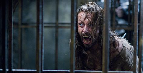 Michael Sheen returns as Lucian, leader of werewolves, in Underworld: Rise of the Lycans, due Friday.