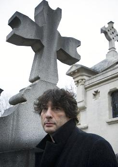 "Neil Gaiman says his Newbery win for The Graveyard Book was ""worth being woken up for."""