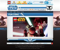 Building blocks: Children can channel their inner Jedi  with the Ultimate Lightsaber Duel at  LEGO.com.