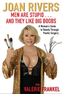 Comedian Joan Rivers, who has two books out, isn't being at all mysterious about her plastic surgeries.