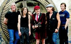 Is it their time? Cliff Williams, left, Malcolm Young, Angus Young, Brian Johnson and Phil Rudd of AC/DC.
