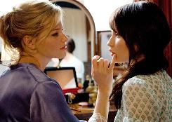 House horror: Elizabeth Banks, Emily Browning.