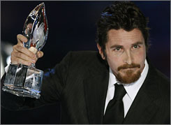 Christian Bale is in the crosshairs after a tape of his Terminator set tirade hit the Internet Monday.