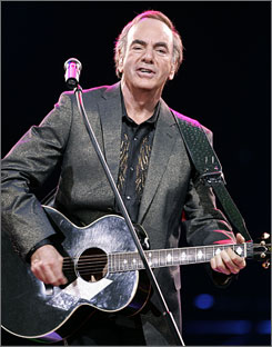 """I love the idea of other people singing my songs. They'll do it their own way,"" Neil Diamond said."