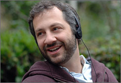 Raunch-meister Judd Apatow will unleash a short film and live material during this year's Oscar telecast.