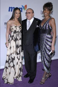 Alicia Keys, Clive Davis and Whitney  Houston last year at Davis' pre-Grammy party in Beverly Hills. This year the music mogul's party has an official Grammy connection.