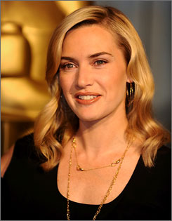 """I'm so used to it, having gone through it before and having lost so many times,"" Winslet says. ""Being in that losing state is something I'm much more comfortable in, in a funny kind of a way."""