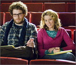 He's Zack, she's Miri: Seth Rogen and Elizabeth Banks play cash-strapped friends who see amateur porn as their financial salvation.