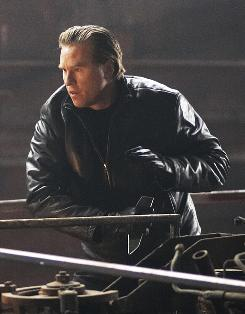 "As the ""Mongoose"": Val Kilmer in NBC's Bourne-like two-parter."