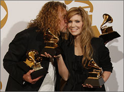 "Robert Plant and Alison Krauss won five Grammys, including record of the year for Please Read the Letter, a track he penned with his Led Zeppelin bandmate, Jimmy Page. ""It's been given the Nashville touch and I think it sounds pretty good,"" he proclaimed."