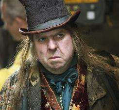 "In Oliver Twist, Timothy Spall's Fagin doesn't have his usual beard, a modern element that, in a classic setting, gives the film ""bite,"" Spall says."