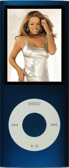 Bid on this: Mariah Carey's iPod, which is loaded with Kanye West, Da Brat and the Notorious B.I.G., is in the first week's auction.