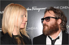 Gwyneth Paltrow co-stars with Joaquin Phoenix in Two Lovers.