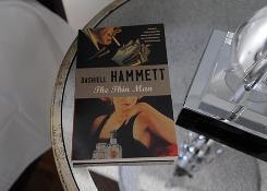 "A copy of Dashiell Hammett's The Thin Man rests on the bedside table in the Inn BoonsBoro's Nick and Nora room, decorated in a style that would make those characters ""very comfortable."""