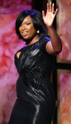 Jennifer Hudson won the best new artist award on Thursday during the 40th NAACP Image Awards.