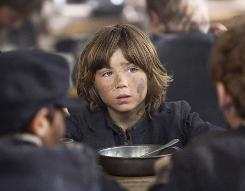 """William Miller plays the orphaned Oliver who famously pleads, """"Please sir, I want some more."""""""