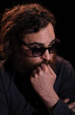 "Joaquin Phoenix stars in Two Lovers, which he says will be his last movie. ""It just feels like I've done what I would want to do"" in acting, he says."