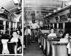 Even before Rosa Parks: In 1955, when the buses in Alabama were still segregated, 15-year-old Claudette Colvin refused to give up her seat to a white passenger in Montgomery. She was arrested and jailed.