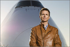 Though jets are the primary transportation on The Amazing Race, host Phil Keoghan's next trip will be self-powered and of the two-wheeled variety.