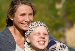 Cameron Diaz and Sofia Vassilieva star in My Sister's Keeper, which was adapted from a Jodi Picoult novel.