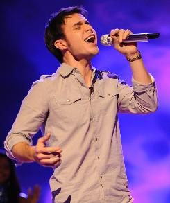 Kris Allen landed a Final 12 spot with Man in the Mirror, but Idol took a hit in the ratings.
