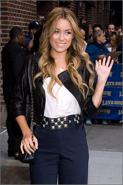 Reality star LaurenConrad will say farewell to MTV's The Hills after five seasons this spring.
