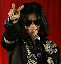 """This is it. These will be my final shows in London,"" Michael Jackson said Thursday in a rare public appearance before more than 1,500 screaming fans."