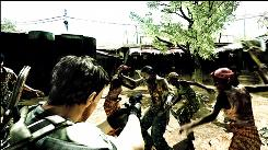 The Resident Evil 5 trailer had images that some say played on racial stereotypes.