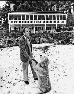 Author John Cheever was all tweedy grace and charm on the outside. But he battled loneliness and alcoholism.