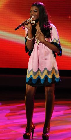 Jasmine Murray, 16, was the first contestant voted off of American Idol on Wednesday night.